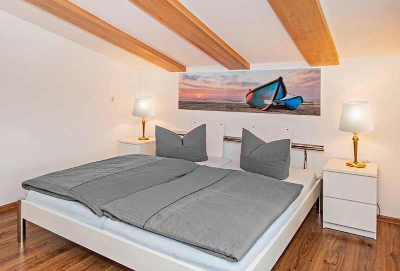 Ferienhaus Ingrid Schlafzimmer Insel Usedom