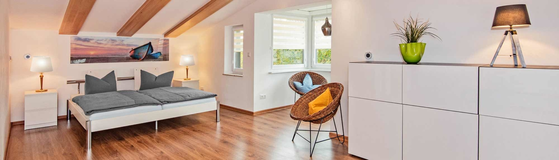 Ferienhaus Ingrid Schlafbereich Insel Usedom